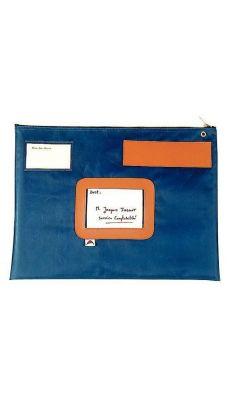 ALBA - POPLAT B - Pochette navette format 32x42cm - Bleu