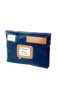 ALBA - POCSOU B - Pochette navette format 32x42x5cm - Bleu