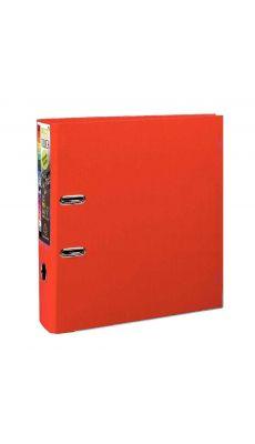Exacompta - 53345E - Classeur à levier plastique A4+ - Dos 8 cm - Rouge