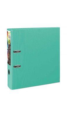 Exacompta - 53303E - Classeur à levier plastique A4+ - Dos 8 cm - Vert clair