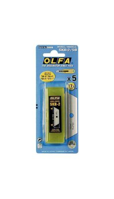 OLFA - SKB-2/5B - Lames pour 59043 + 59045 - Blister de 5
