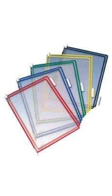 TARIFOLD -  114009 - Poches a pivot colori assorti - boite de 10