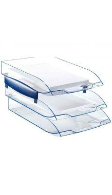 CEP - 140 - Rehausse pour corbeille courrier Ice blue - Jeu de 2
