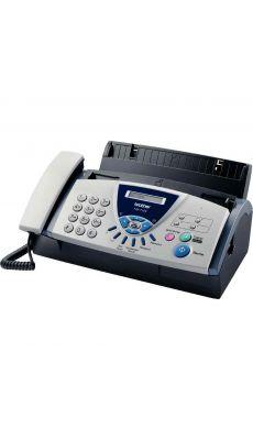 Télécopieur Fax Brother T104 (avec téléphone filiaire)
