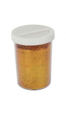 Saliere 100g de poudre scintillante coloris Or