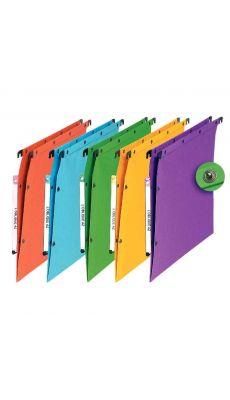 L'OBLIQUE - 500035 - Dossier suspendu L'oblique azv/armoire dos v assortie - Paquet de 10
