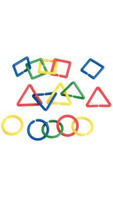 Chainons geometriques - sachet de 500