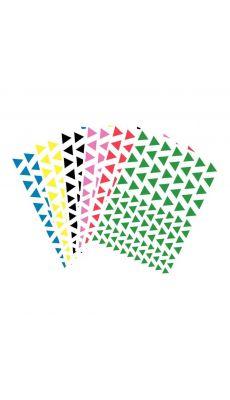 Gommette triangulaire mj - Blister de 816