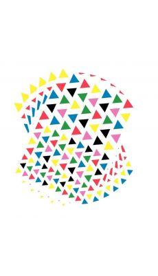 Gommette triangulaire - Blister de 2720
