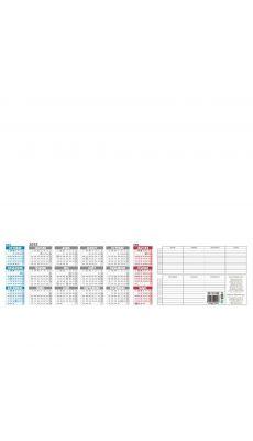 Bouchut grandremy - 002058 - Recharge sous-main 25 feuilles 38.5x54 cm millésimé