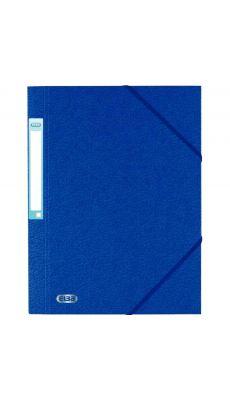 L'OBLIQUE - 100200780 - Chemise 3 rabats à elastique + etiquette grain 7/10 bleu