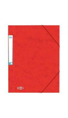 L'OBLIQUE - 100200799 - Chemise 3 rabats à elastique + etiquette grain7/10 rouge