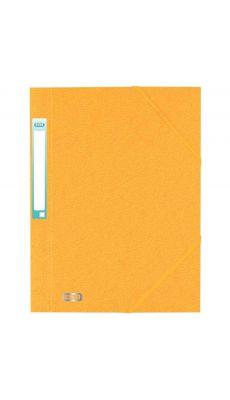 L'OBLIQUE - 100200788 - Chemise 3 rabats à elastique + etiquette grain7/10 jaune
