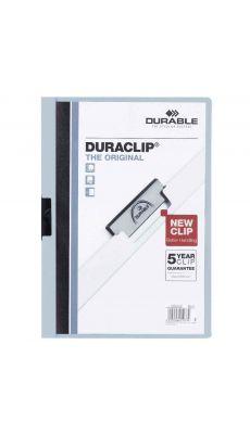Durable - 210452 - Chemise de présentation Duraclip A4 - Dos 6mm - Noir