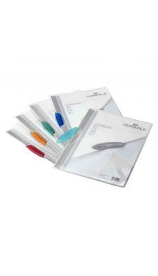 Duraclip - 2260 06 - Chemise de présentation Swingclip translucide - Bleu