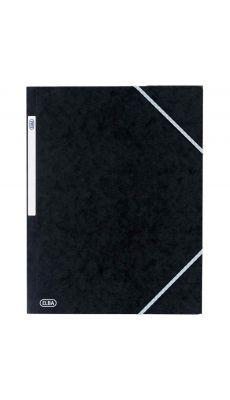 Chemise 3 rabats a elastique carte lustrée 5/10eme noir