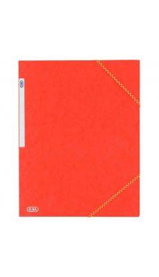 Chemise 3 rabats a elastique carte lustrée 5/10eme rouge