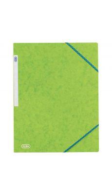 Chemise 3 rabats a elastique carte lustrée 5/10eme anis