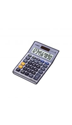 Casio - MS-100TERII - Calculatrice de bureau 10 chiffres