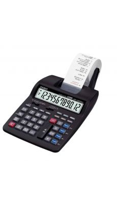Calculatrice imprimante de bureau Casio hr150tec - 12 chiffres