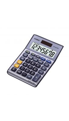Casio - MS-88TERII - Calculatrice de bureau 8 chiffres