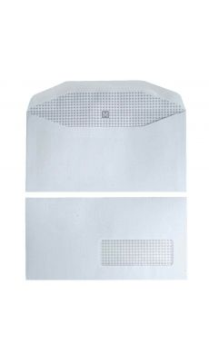 Enveloppes insertion mecanique blanches f35 - boite de 1000