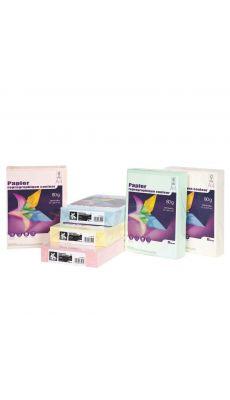 First - 63191 - Ramette papier A4 80g - Jaune - 500 Feuilles