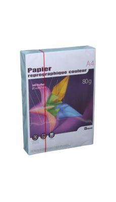First - 63194 - Ramette papier A4 80g - Bleu - 500 Feuilles