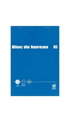 Bloc de bureau 100 feuilles A5 60g 5x5