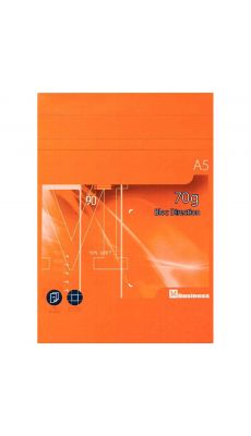 Bloc de direction 80 feuilles A5 70g business