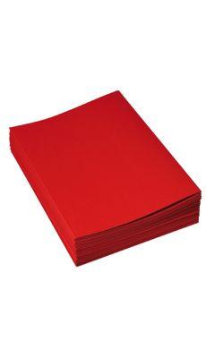 Chemises dossiers super 210 24x32 rouge - Paquet de 100