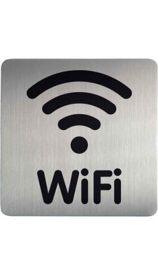 DURABLE FRANCE - 478623 - PLAQUE SIGNALISATION WIFI