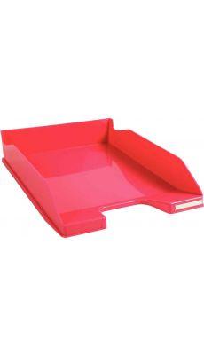 CORBEILLE COURRIER A4+ ROSE GLOSS
