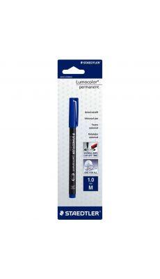 STAEDTLER - Feutre Staedtler lumocolor permanent 1,0 bleu