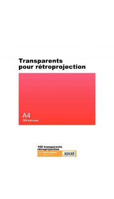 Transparent copieur A4 100m - boite de 100