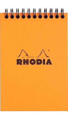 RHODIA - BLOC RI ORANGE A6 160P 5X5 80G