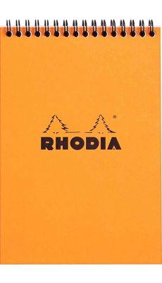 RHODIA - BLOC RI ORANGE A5 160P 5X5 80G