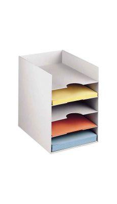 PAPERFLOW - 3005 02 - Classeur 5 cases format 24x32 cm pour armoire - Gris