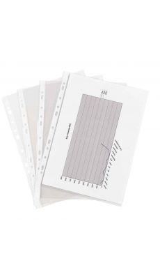 Pochettes perforees lisse 7,5/100 - sachet de 100