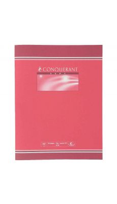 Conquerant - 04-002 - Cahier piqûre grand carreaux - 17x22 cm - 32p Pages