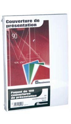 PAVO - 8011025 - Couverture glace 21x29,7 blanc 250g - Paquet de 100
