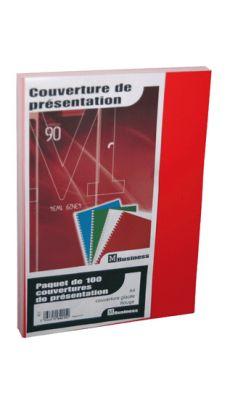 PAVO - 8011087 - Couverture glace 21x29,7 rouge 250g - Paquet de 100