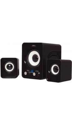 SP-U803BK - Mini kit sonore multimédia SoundPhonic 2.1 Black - 6W RMS