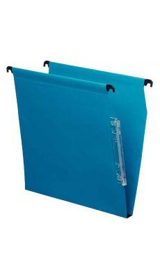 Dossier suspendu armoire dos 15 bleu - Paquet de 25