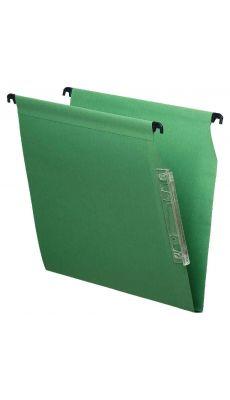 Dossier suspendu armoire dos 15 vert - Paquet de 25