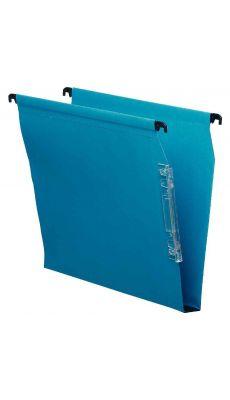 Dossier suspendu armoire dos 30 bleu - Paquet de 25