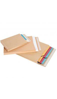 Enveloppe kraft 260x330 soufflet 3 cm - Paquet de 50 pochettes