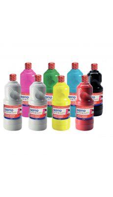 OMYACOLOR - 84001 - Gouache liquide - Carton de 8 flacons 1l