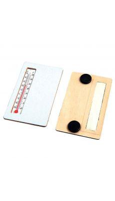 Thermometre en bois a decorer - Lot de 5
