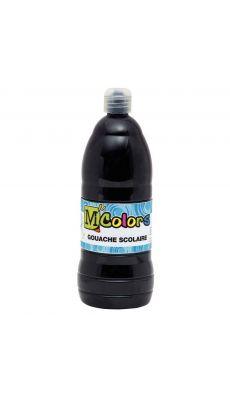 Gouache liquide noire - Flacon de 1L